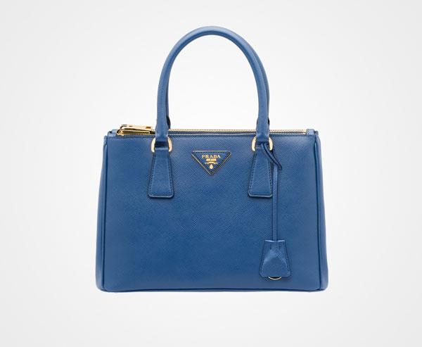 b2891199d14b7a Prada Galleria Small Saffiano Leather Bag Prada BLUETTE ...
