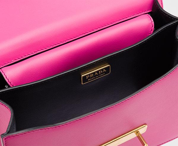 b409b2209f Prada Cahier leather bag   Prada
