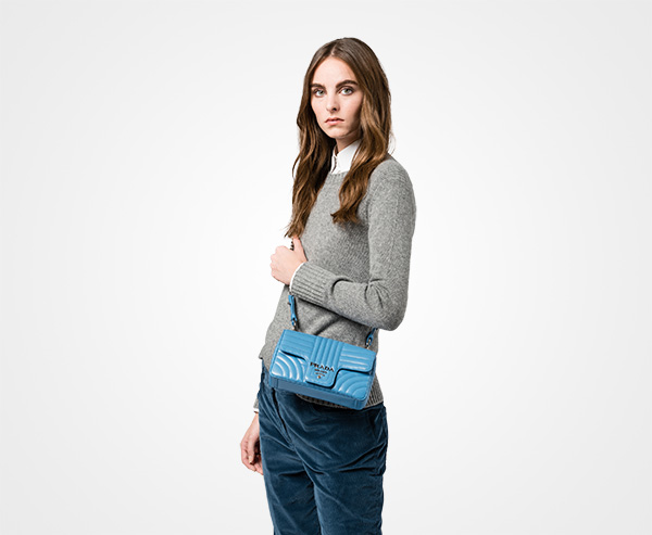 Prada Diagramme shoulder bag WApQhRHNv