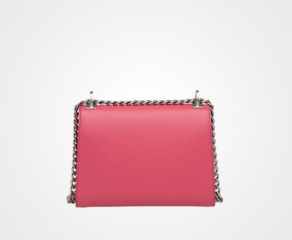 57f5ffa24e ... Prada Monochrome Saffiano leather bag Prada TAMARIND PINK ...