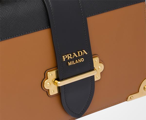 bb1de23979 Prada Cahier Large leather bag | Prada