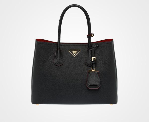 Prada Tote Bag On Sale, Granite, Saffiano, 2017, one size