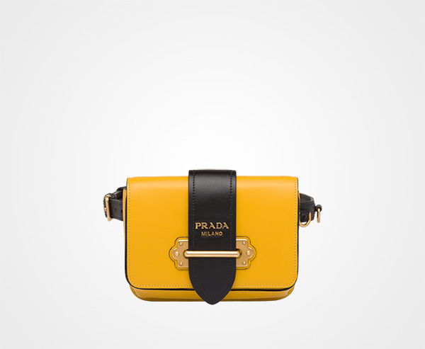 0d3c78fb1c85 Prada Cahier Belt Bag Prada SUNNY YELLOW/BLACK ...
