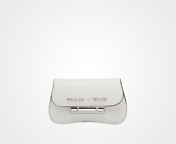c76d890837 Prada Sybille leather mini-bag | Prada