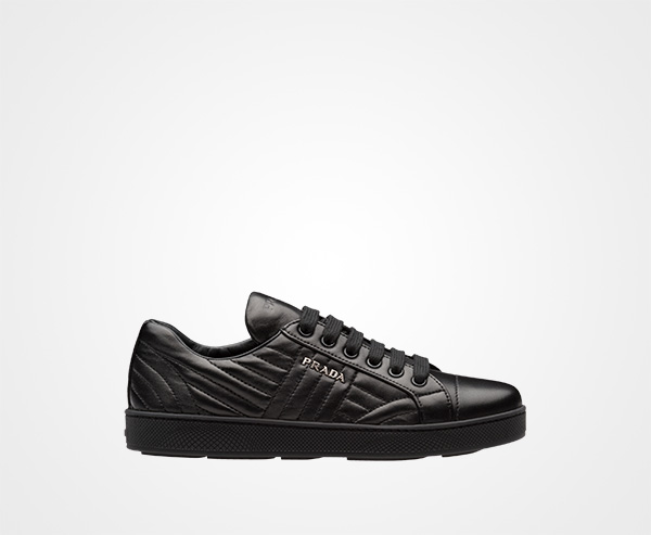 Prada Nappa Leather Sneakers New Styles Cheap Price New Arrival jZuzX