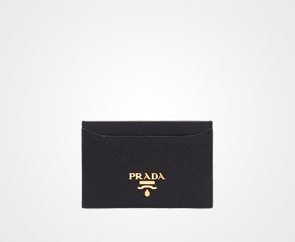 Prada Card Holder With Strap