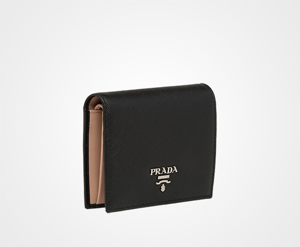 896a3ab1b6d734 low price small saffiano leather wallet prada 32fe6 9d115