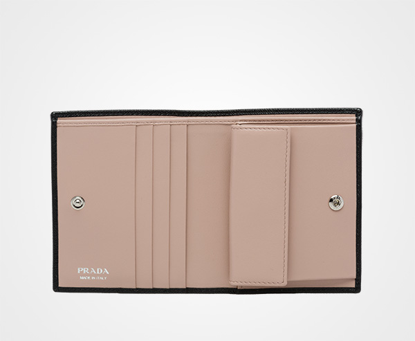 31ede1feb50d10 ... low price small saffiano leather wallet prada 32fe6 9d115