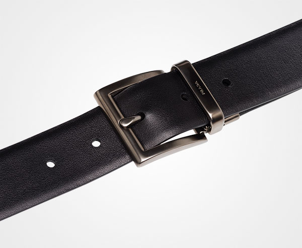 3ed10cd320 Saffiano Cuir Leather Reversible Belt | Prada