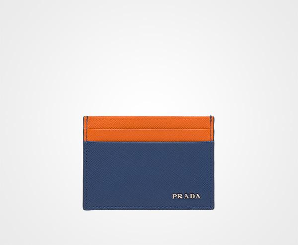676a5216fe4def discount code for prada prada saffiano leather card holder 04520 66718; low  price saffiano leather card holder prada cornflower blue papaya 723d7 90941