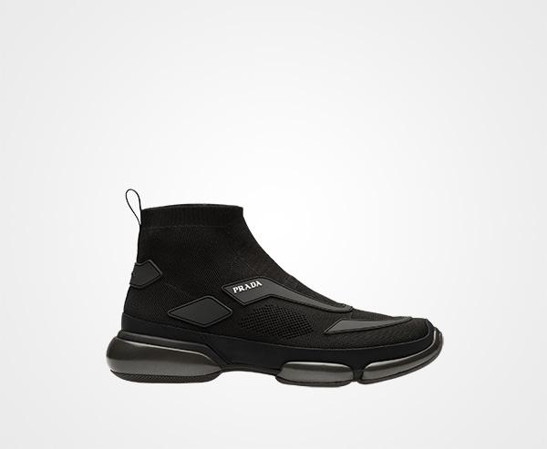 b37a613c Cloudbust high-top sneakers | Prada