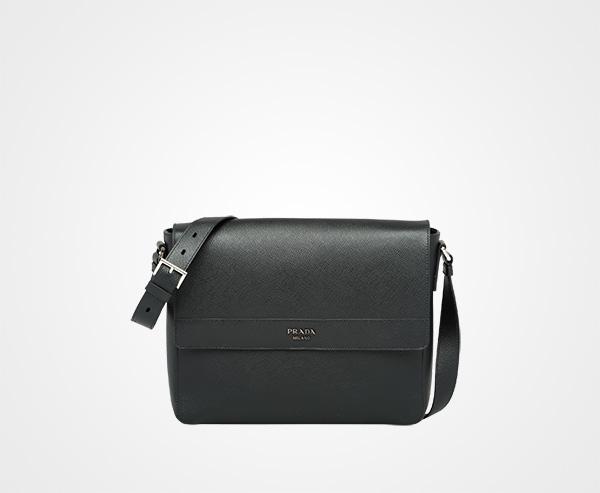 88376773c0 ... aliexpress saffiano leather shoulder bag prada black 58994 b95a0