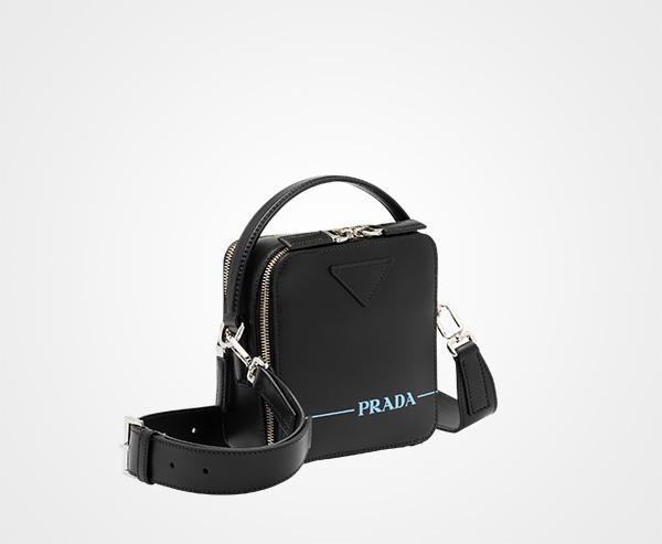 607ac24c56 Prada Brique leather bag   Prada