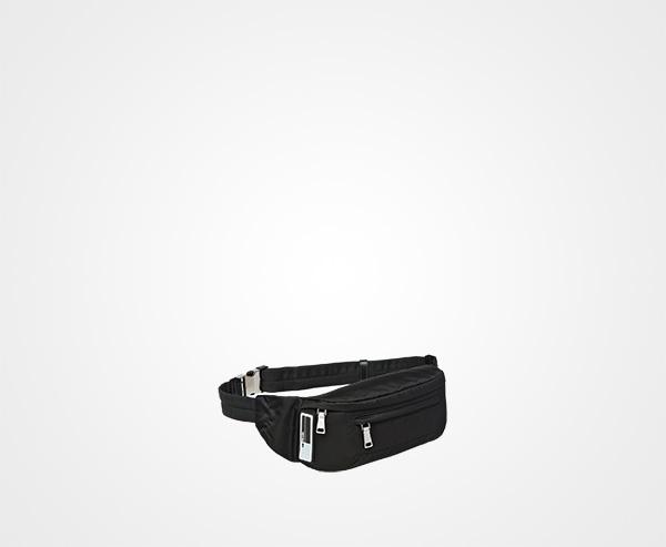 087d36e7b8a1 ... Technical fabric belt bag Prada BLACK ...