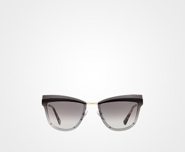 2066e98f390 Prada Cinéma eyewear Prada GRADIENT ANTHRACITE GRAY LENSES ...