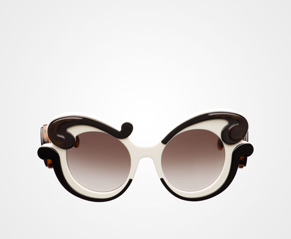 9e9b4a4a50c5 Prada Minimal Baroque Eyewear Prada GRADIENT ANTHRACITE GRAY LENSES ...