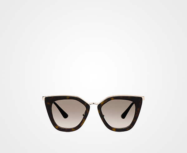 d802a7f59c9 Prada Cinéma Eyewear Prada GRADIENT ANTHRACITE GRAY TO CAMMEO BEIGE LENSES  ...