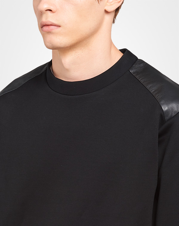 16dd7e9bf7 Technical cotton sweatshirt | Prada