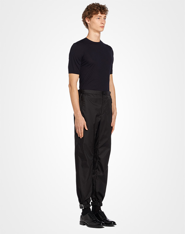 22323203 Gabardine nylon pants | Prada