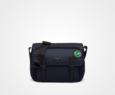 90db52a7b Prada Re-Nylon shoulder bag BLUE+GREEN Prada