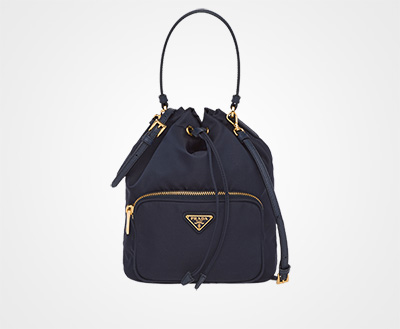 061ead819dd3 Fabric Shoulder Bag NAVY Prada