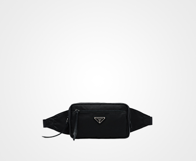 d4b6c0c2951021 Nylon and leather belt bag | Prada - 1BL009_064_F0002_V_OOO