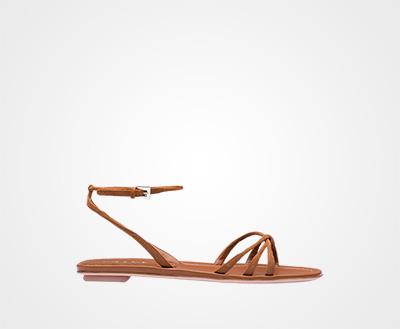 8a29e2eb11cc Suede sandals HAZELNUT BROWN Prada