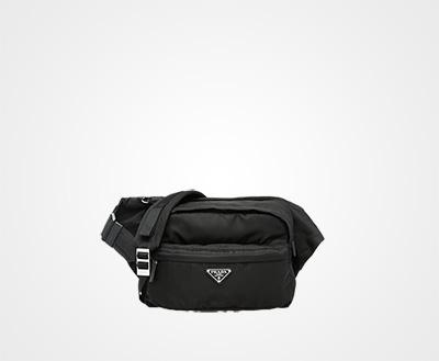 4c90c67fd178 Technical fabric cross-body bag BLACK Prada