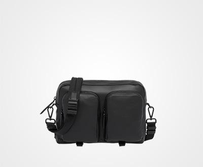 b7dd62a51ff7 ... new zealand leather shoulder bag black prada 32c34 d9713