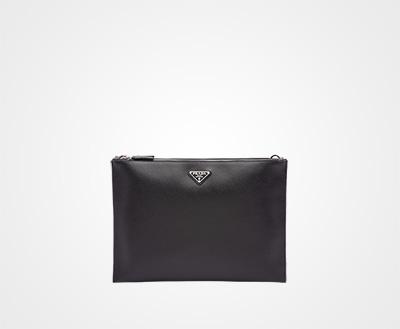 ce26e75b9fce Saffiano leather document holder