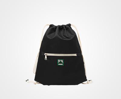 c9188aeb822 Technical fabric backpack BLACK Prada