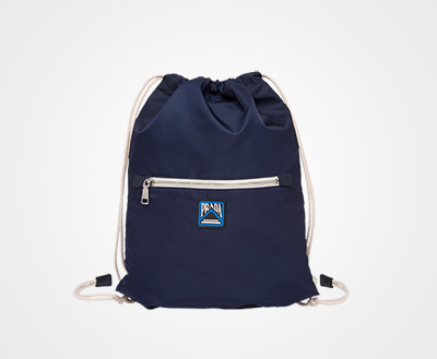 f4999b48f73e Technical fabric backpack BALTIC BLUE Prada