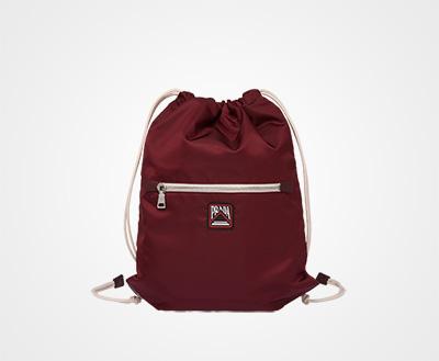 ab7b83905e9 Technical fabric backpack GARNET Prada
