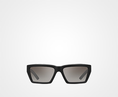3b0f0b38a04b Prada Disguise sunglasses ANTHRACITE GRAY TO LAKE BLUE GRADIENT LENSES WITH  SILVER MIRROR FINISH Prada