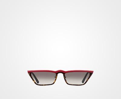 c14590f1d6 Prada Ultravox sunglasses GRADIENT ANTHRACITE GRAY LENSES Prada