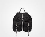 Prada Black Nylon Backpack BLACK Prada