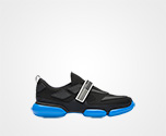 Cloudbust sneakers BLACK/VOYAGE BLUE Prada