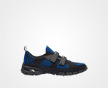 Crossection Sneakers BLACK/ROYAL BLUE Prada