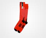 Nylon tights RED/BLACK Prada