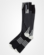 Nylon tights BLACK/DARK GRAY Prada