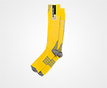Nylon tights YELLOW/HEMATITE Prada