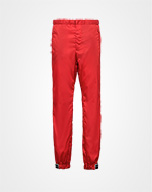 Gabardine nylon pants RED Prada
