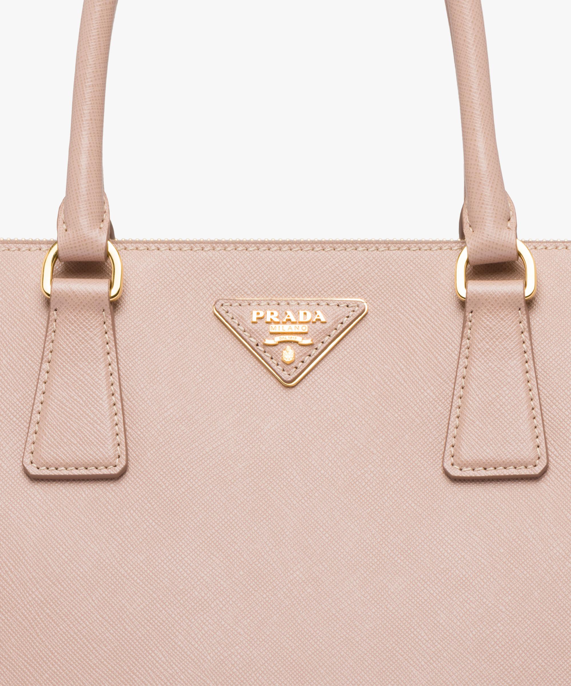 cdbd2ea0b99cf5 ... Prada Galleria Large Saffiano Leather Bag Prada POWDER PINK ...