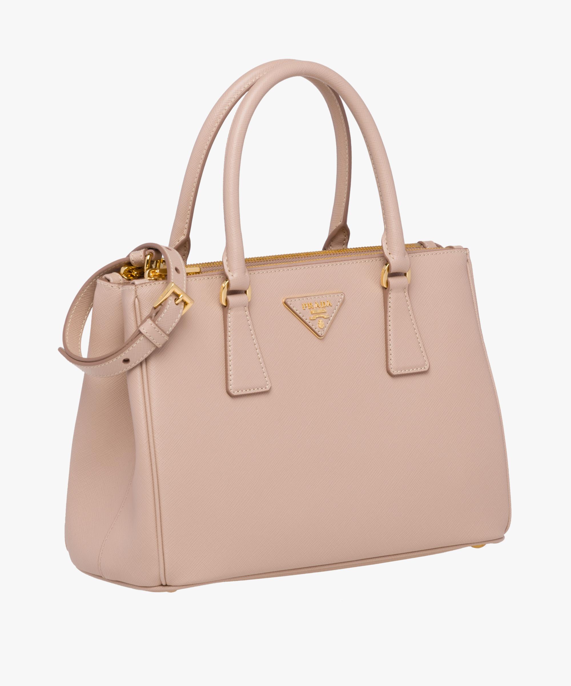 6268288754cb5d ... Prada Galleria Small Saffiano Leather Bag Prada POWDER PINK ...