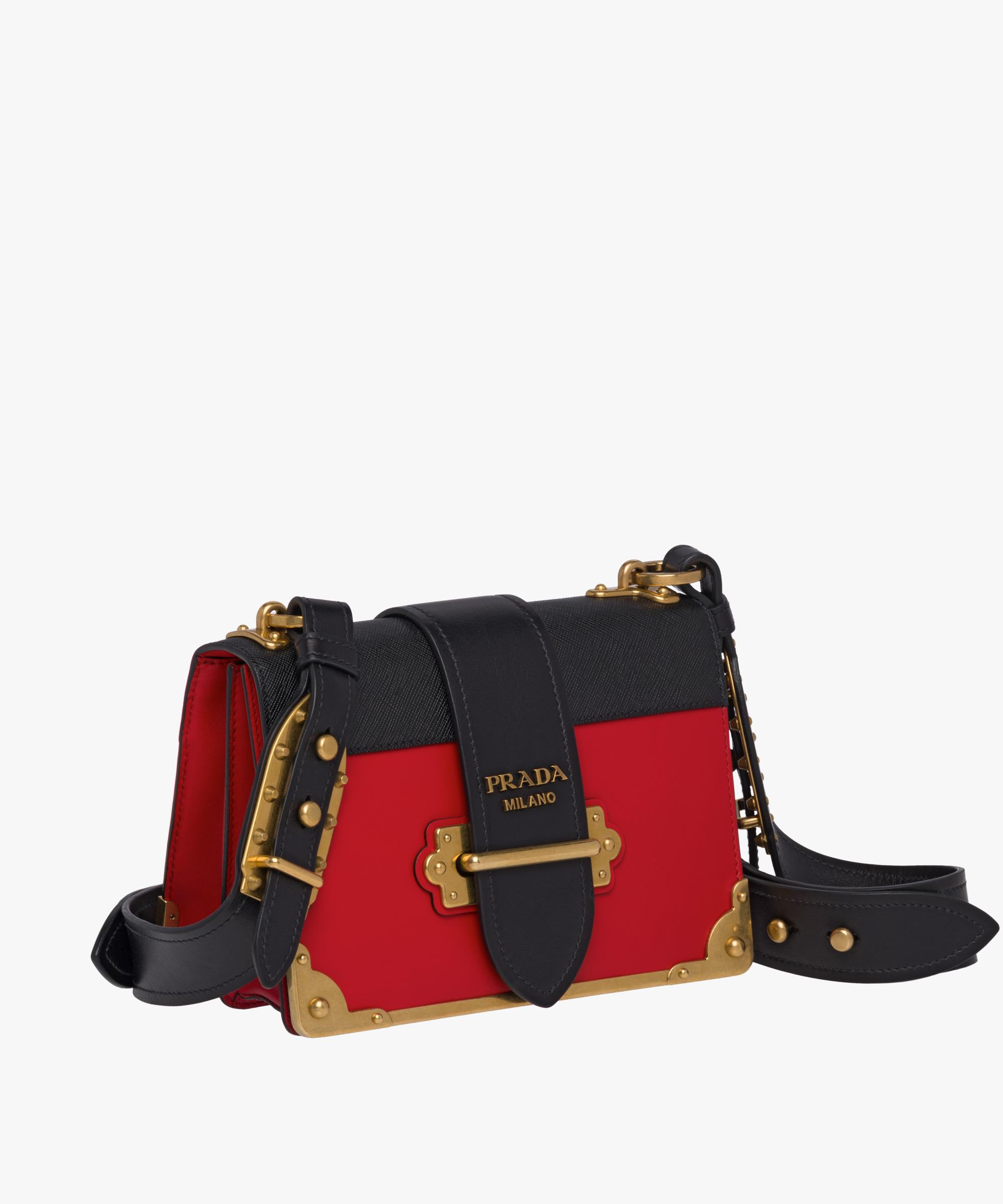 Prada Cahier Lion Head Bag