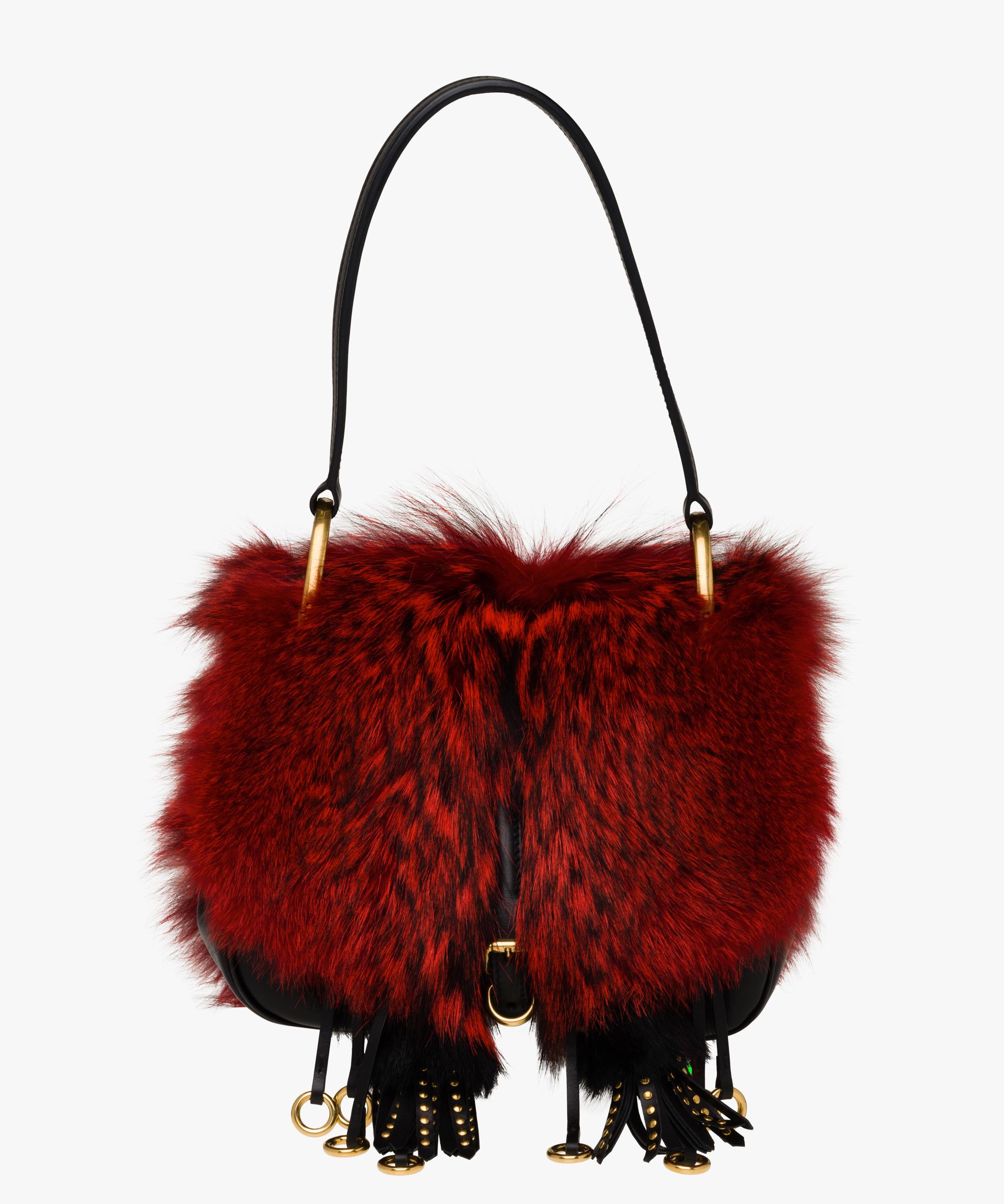 ad979c82cd9722 ... Prada Corsaire Bag Prada RED/BLACK ...