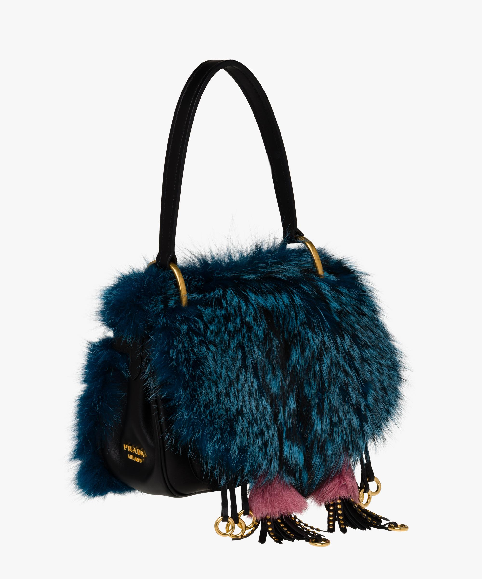 ff6698026726f9 ... Prada Corsaire Bag Prada DARK TEAL/BLACK ...