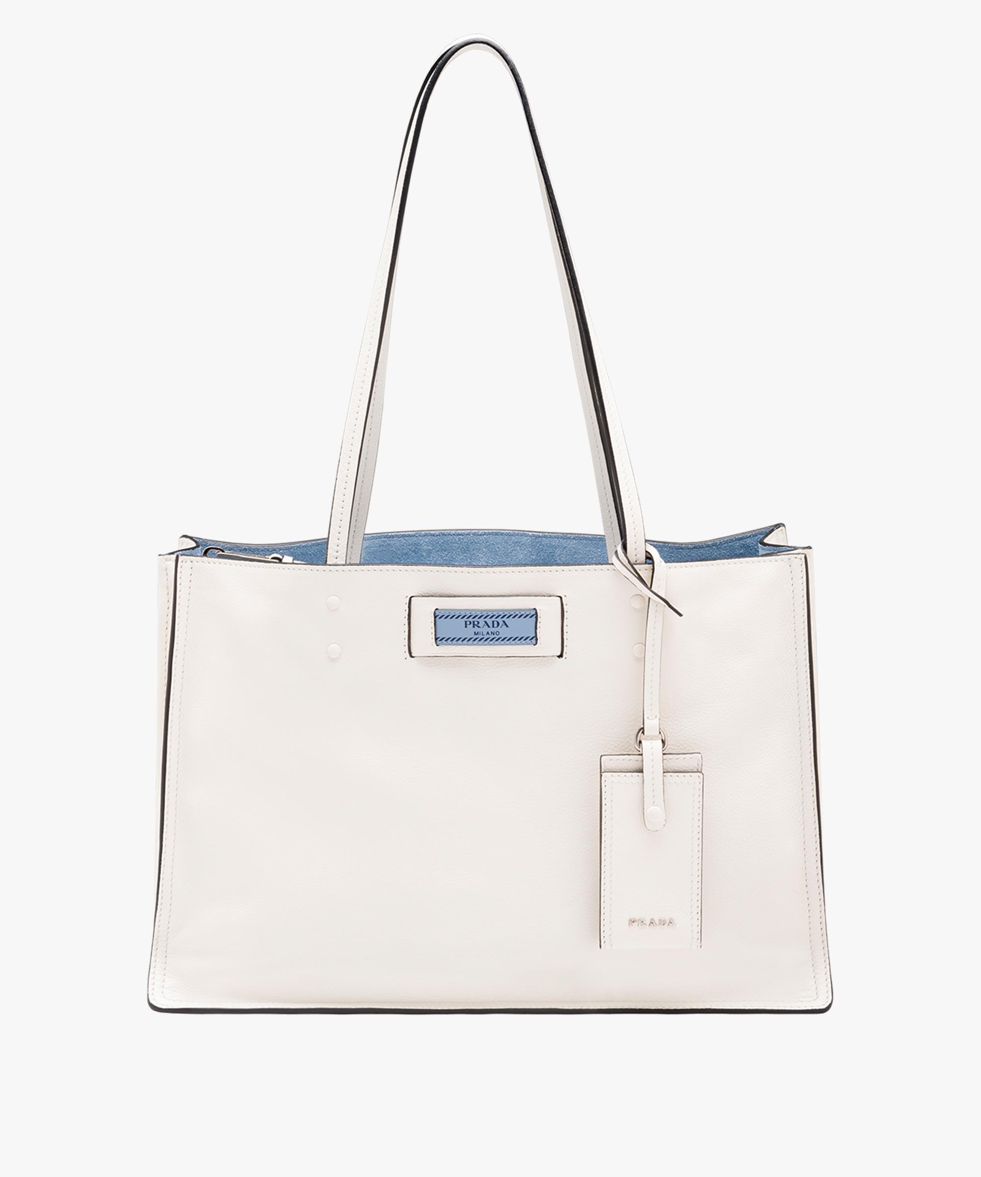 Etiquette shoulder bag - White Prada gjPSBE