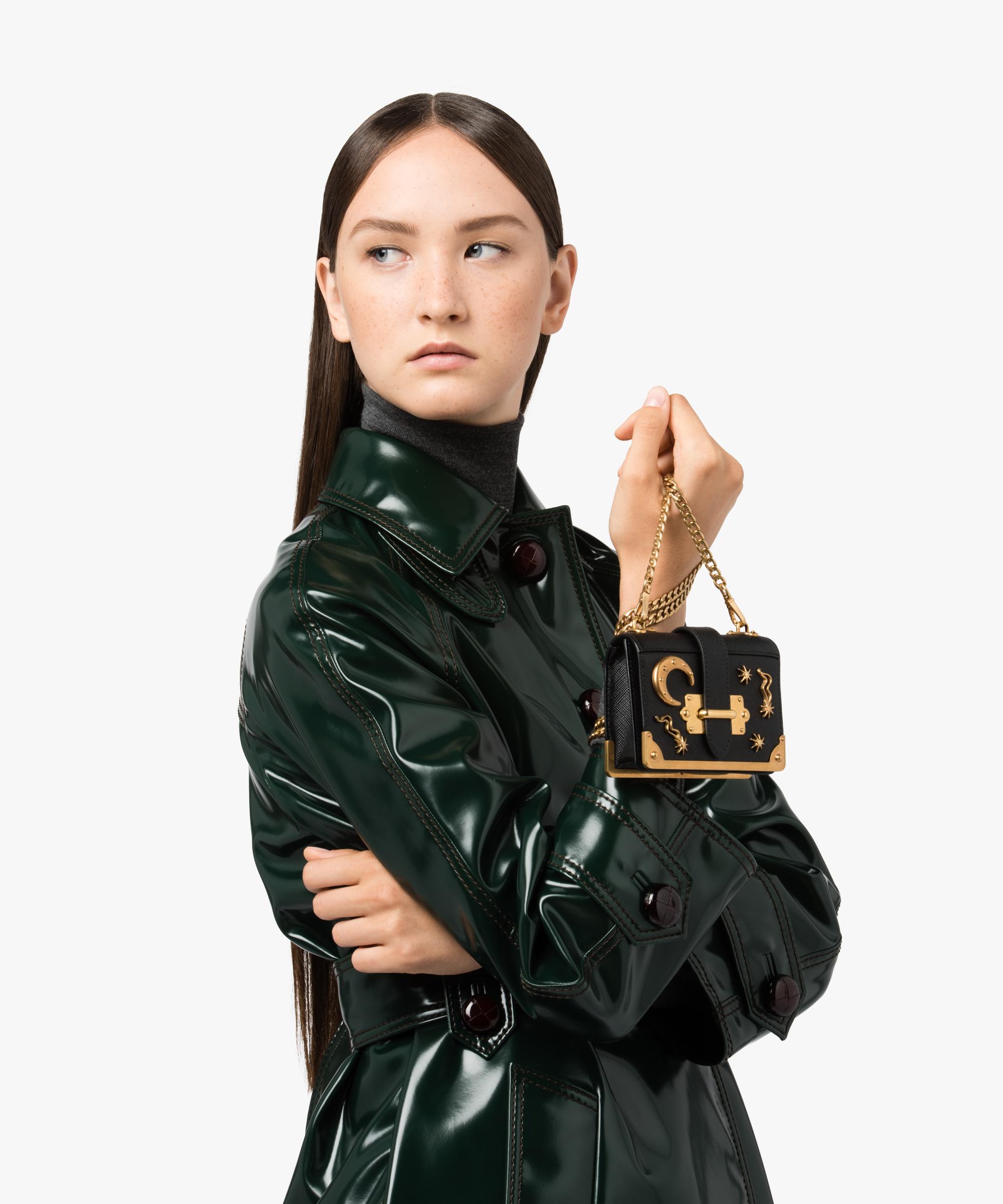 c94ffb2a3ba0 ... Micro Cahier Bag Prada BLACK ...