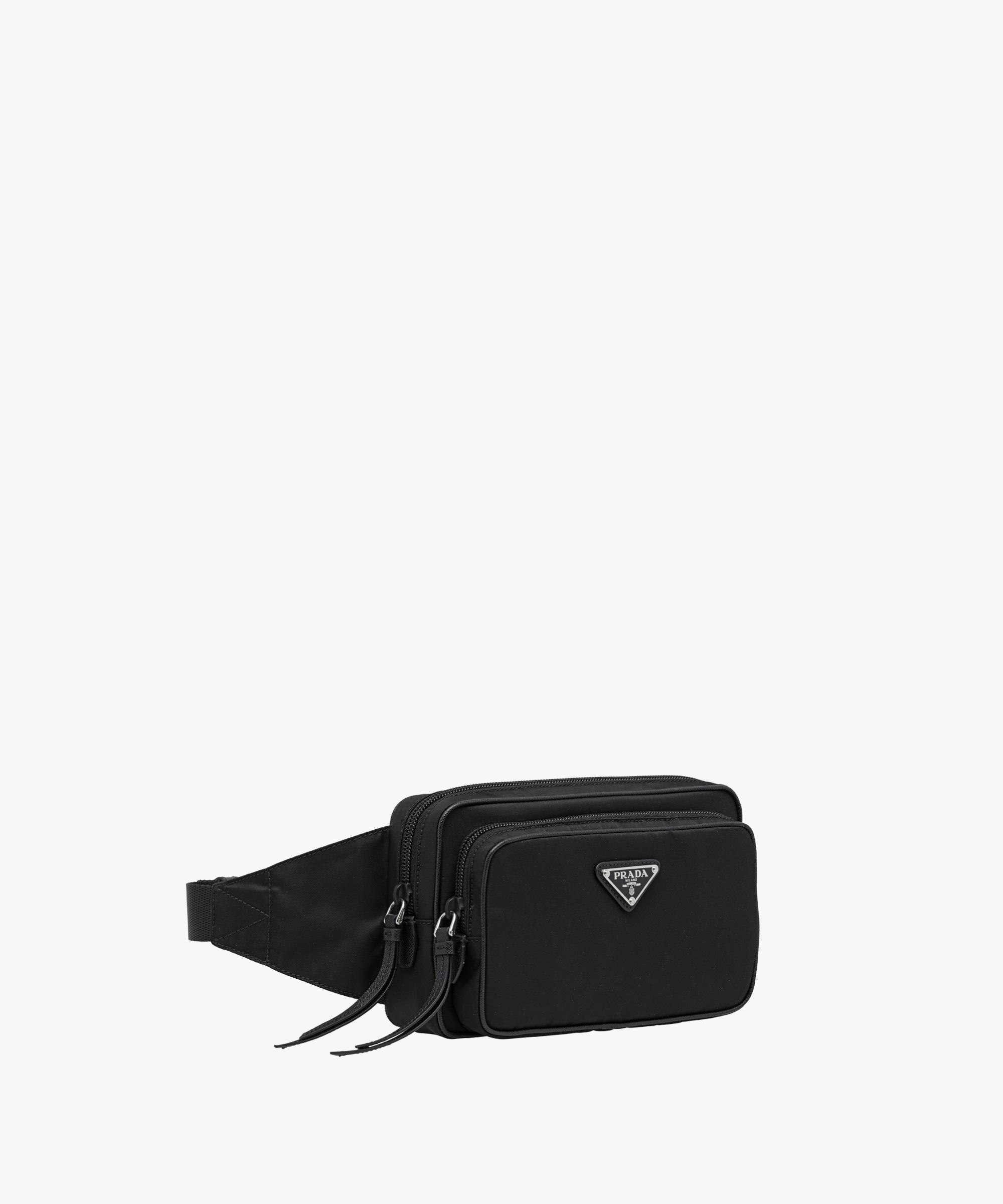 Nylon and leather belt bag Prada gpEV4Sp